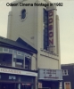 The Odeon Cinema frontage in the 1980's