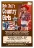 Debi Hall's Country Girls Show Poster