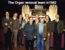 Cinema closure in 1982 and the Compton Organ removal team.