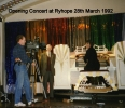 Opening concert in 1992 with the Compton in its new venue Ryhope Community Centre, Black Road, Ryhope Village, Sunderland SR2 0RX.