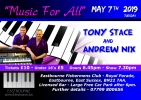 Tony Stace and Andrew Nix Duet Show - May 7th 2019.