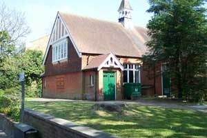 The All Saint's Church Institute Hall in Banstead