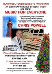 Chris to bring Christmas Cheer in Kent!
