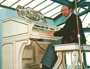Johnny at the Wurlitzer, North Pier, Blackpool