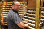 Michael Carter at The Wannamaker organ, Philadelphia, PA, USA
